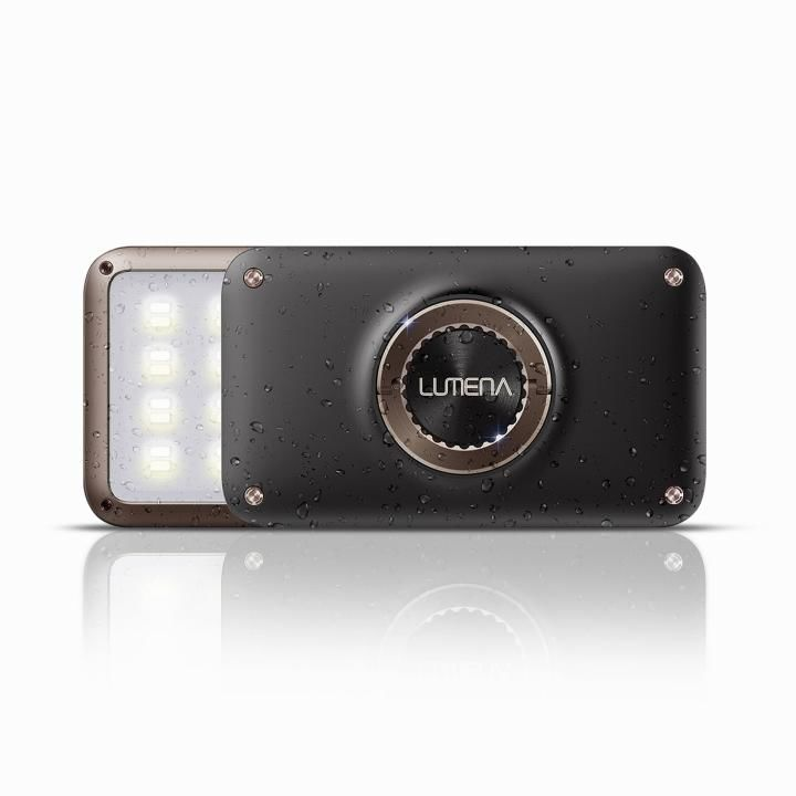 LEDランタン LUMENA(ルーメナー)2 防塵・防水 IP67 メタルブラウン_0