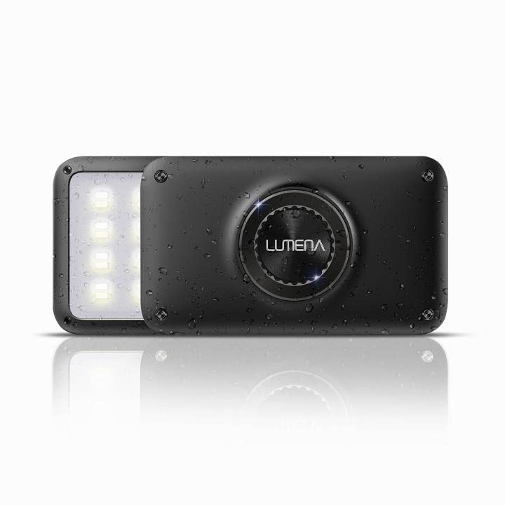 LEDランタン LUMENA(ルーメナー)2 防塵・防水 IP67 メタルブラック【4月下旬】_0