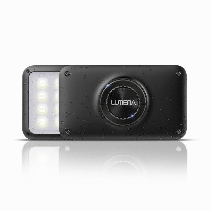 LEDランタン LUMENA(ルーメナー)2 防塵・防水 IP67 メタルブラック【7月下旬】_0