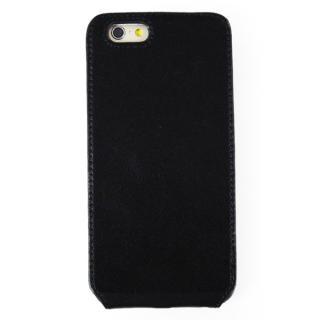 本革フリップケース スリーク ブラック iPhone 6