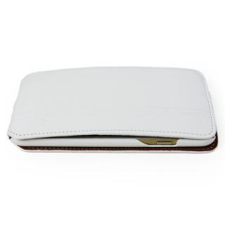 【iPhone6ケース】本革フリップケース スリーク ホワイト iPhone 6_2