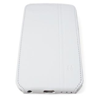 【iPhone6ケース】本革フリップケース スリーク ホワイト iPhone 6_3