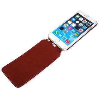 【iPhone6ケース】本革フリップケース スリーク ホワイト iPhone 6_4