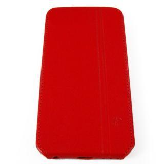 【iPhone6ケース】本革フリップケース スリーク レッド iPhone 6_3
