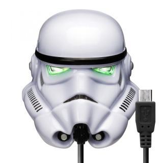 STAR WARS microUSBコネクタAC充電器2A ストームトルーパー