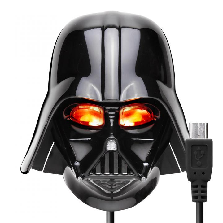STAR WARS microUSBコネクタAC充電器2A ダースベイダー_0
