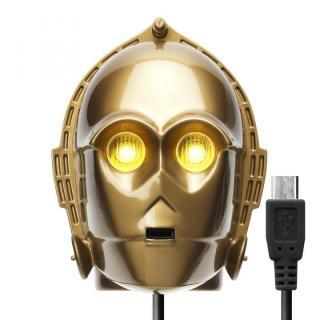 STAR WARS microUSBコネクタAC充電器2A C-3PO