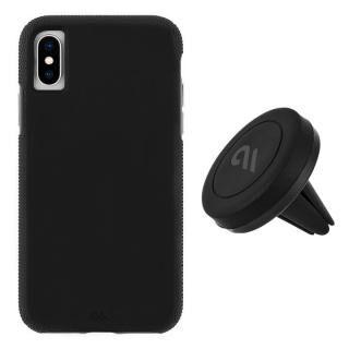 【iPhone XS/Xケース】[AppBank先行]Case-Mate 耐衝撃 二重構造 ハイブリッド タフ Car Case ブラック iPhone XS/X