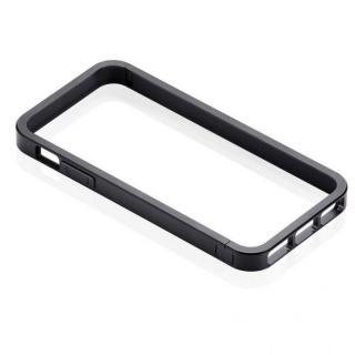 メタルバンパーなのに軽量ボディ Just Mobile AluFrame  iPhone SE/5s/5 ブラック