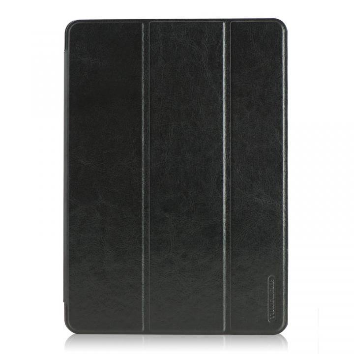 LeatherLook SHELL with Front カバー iPad Air Jet Black_0