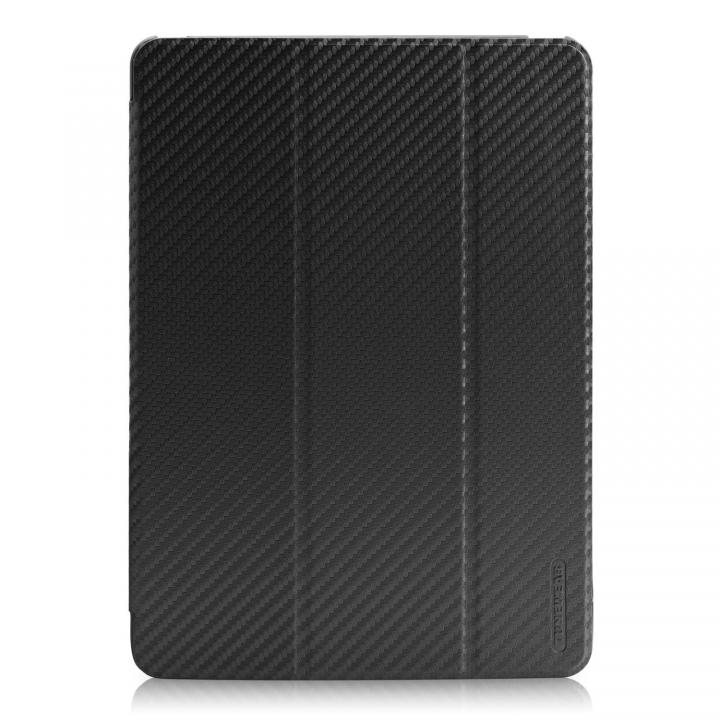 CarbonLook SHELL with Front cover iPad Air ブラック_0