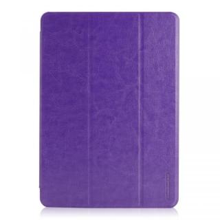 LeatherLook SHELL with Front カバー iPad Air Violet