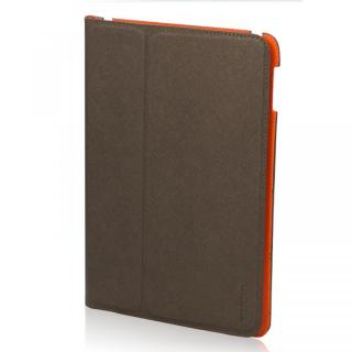 LeatherLook  iPad Air Powder Bronze/Valencia Orange