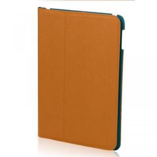 LeatherLook Classic iPad Air Camel Brown/Marine Blue