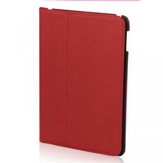 LeatherLook Classic iPad Air Rosso Red/Milan Black