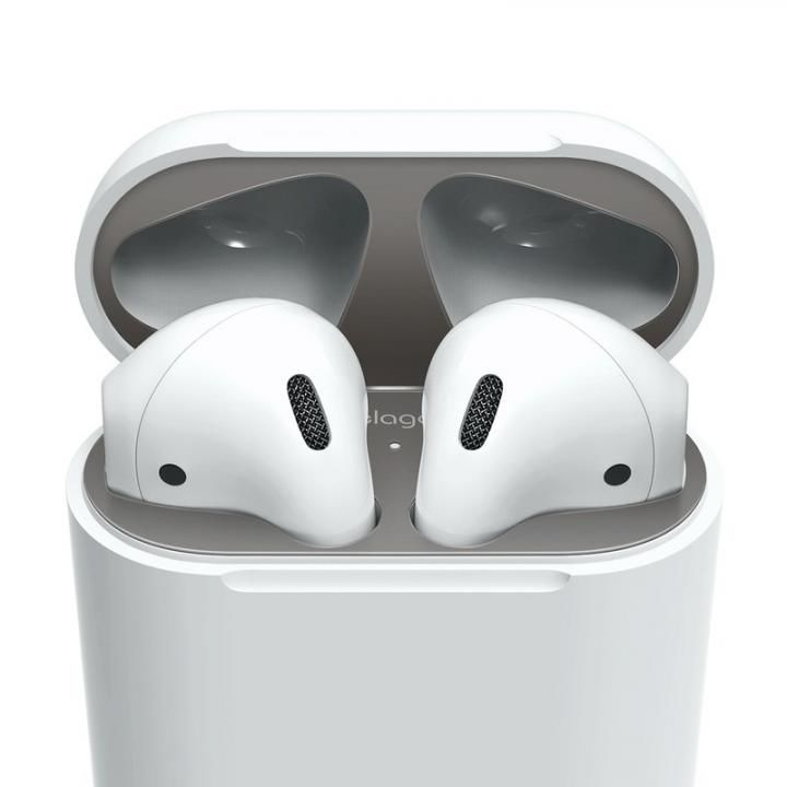 elago AirPods DUST GUARD for AirPods Matte Dark Gray_0
