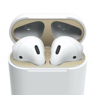 elago AirPods DUST GUARD for AirPods Matte Gold