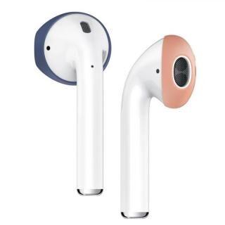 elago Secure Fit for AirPods Jean Indigo/Peach