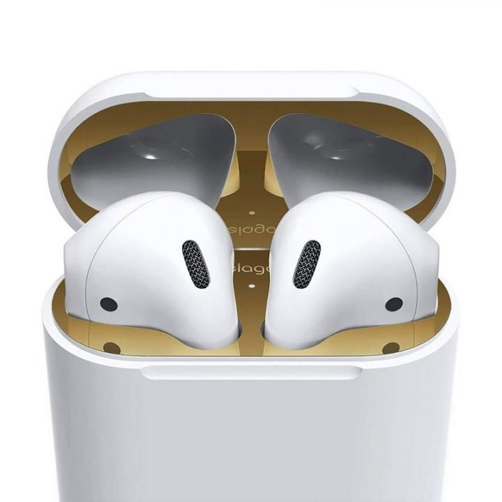 elago AirPods DUST GUARD for AirPods Gold_0