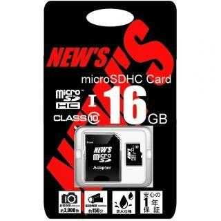 NEW'S microSDHC 16GB class10 UHS-1【4月下旬】