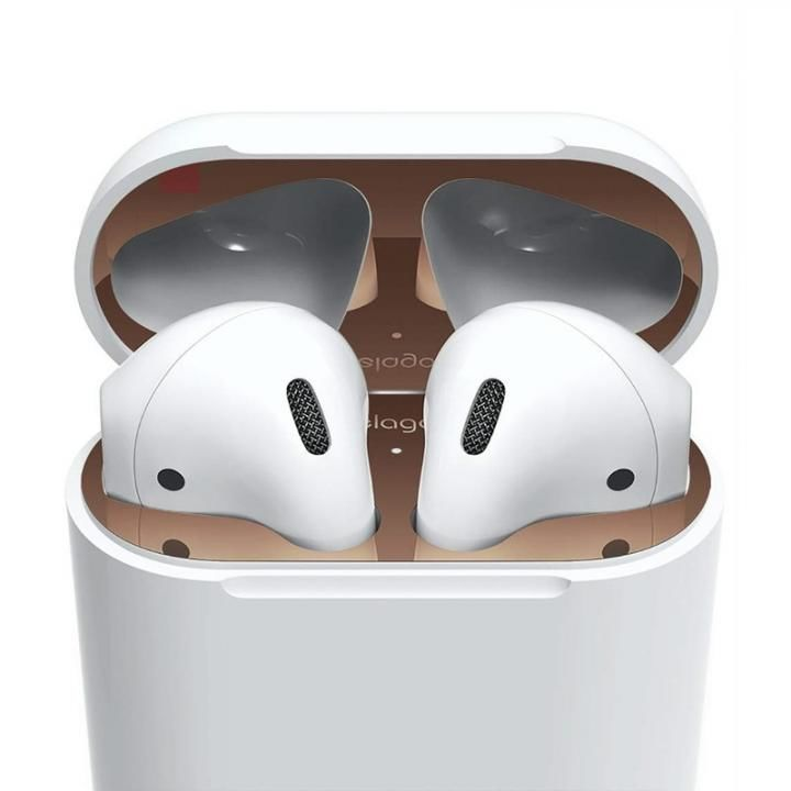 elago AirPods DUST GUARD for AirPods Rose Gold_0