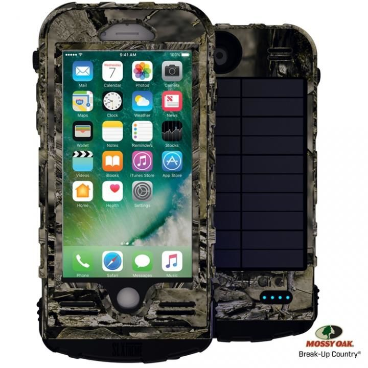 防水防塵耐衝撃ソーラーパネル付バッテリーケース SLエクストリーム8 iPhone 8/7【7月下旬】