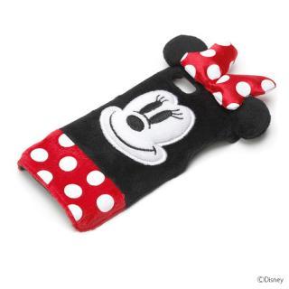 ディズニー iPhone SE/5s/5用ぬいぐるみケース ミニーマウス
