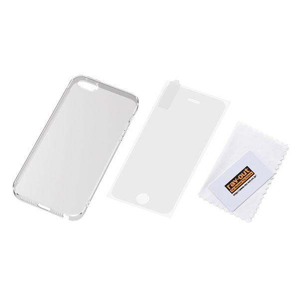 iPhone SE/5s/5 フルアーマー・ケース/クリア