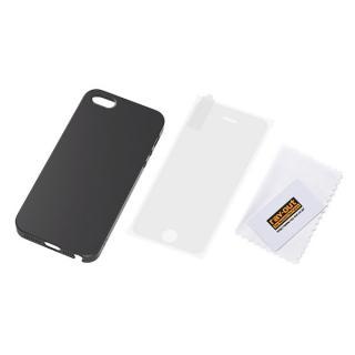 iPhone SE/5s/5 フルアーマー・ケース・マット/マットブラック