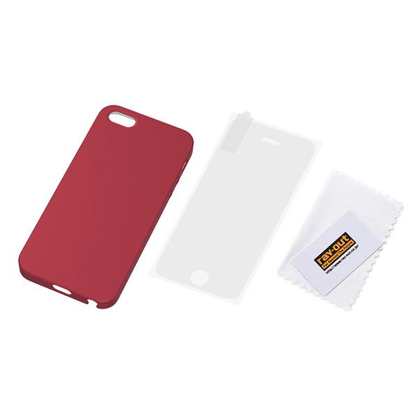 iPhone SE/5s/5 ケース iPhone SE/5s/5 フルアーマー・ケース・マット/マットレッド_0