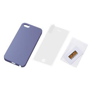 iPhone SE/5s/5 フルアーマー・ケース・マット/ライトバイオレット