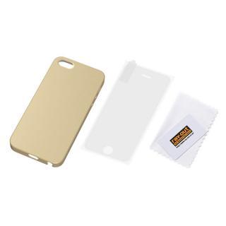 iPhone SE/5s/5 フルアーマー・ケース・マット/シャンパンゴールド