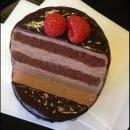 食品サンプルスマホスタンド チョコケーキ iPhone 5s/5c/5/4s/4/Android