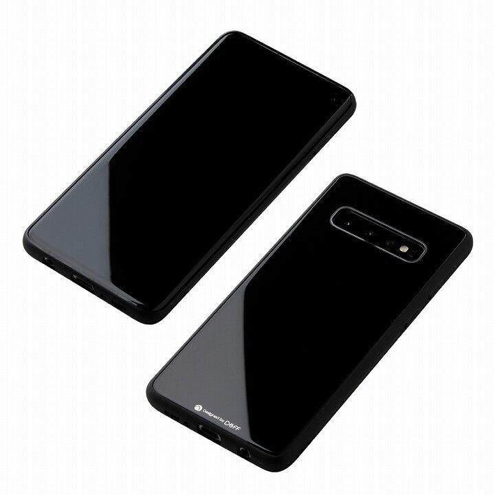Hybrid Case Etanze for Galaxy S10 ブラック_0