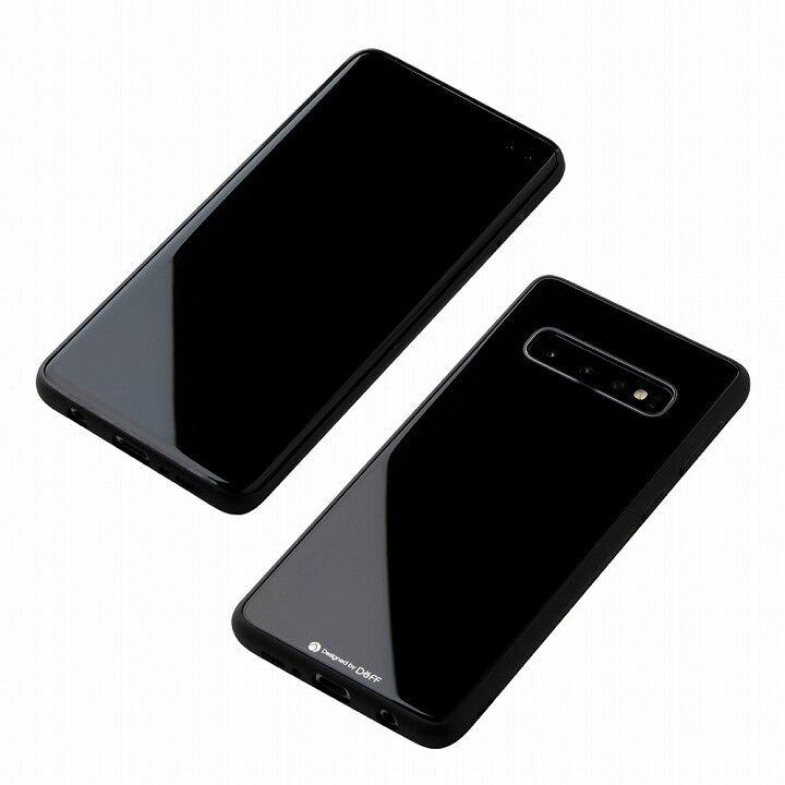 Deff Hybrid Case Etanze for Galaxy S10プラス ブラック_0