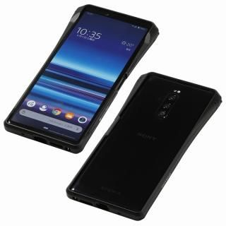 CLEAVE Aluminum Bumper CHRONO for Xperia 1 Black【4月中旬】