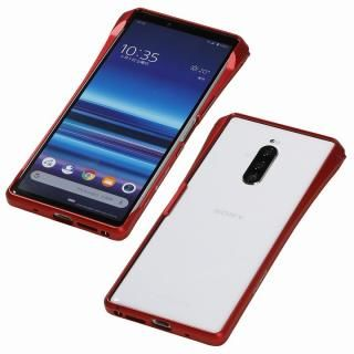 CLEAVE Aluminum Bumper CHRONO for Xperia 1 Red