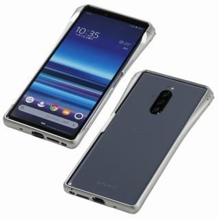 CLEAVE Aluminum Bumper CHRONO for Xperia 1 Silver
