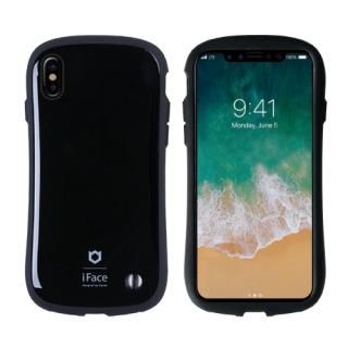iFace First Classケース ブラック iPhone X