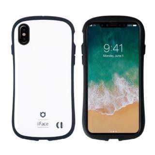 【iPhone Xケース】iFace First Classケース ホワイト iPhone X