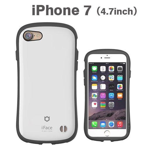iface First Classケース ホワイト iPhone 8/7
