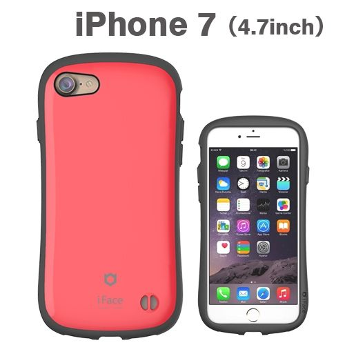 iPhone8/7 ケース iface First Classケース レッド iPhone 8/7_0