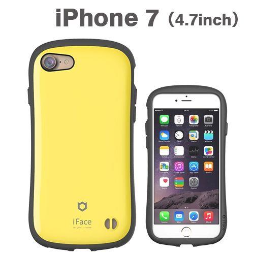 iPhone8/7 ケース iface First Classケース イエロー iPhone 8/7_0