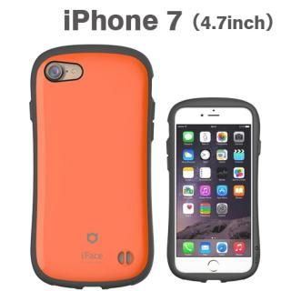 iPhone8/7 ケース iface First Classケース オレンジ iPhone 8/7
