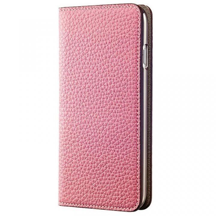 BONAVENTURA German Togo 手帳型レザーケース ピンク/ライトブラウン iPhone 7