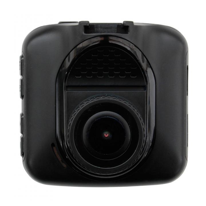 ドライブレコーダー 2.4インチ液晶 FULL HD 広角156°レンズ 12/24V対応 ブラック_0
