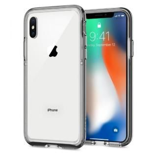 【iPhone X ケース】Spigen ネオハイブリッド EX クロームグレイ iPhone X