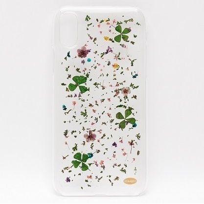 iPhone X ケース ONLY ONE 真花ケース Blowing Petals iPhone X_0