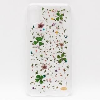 iPhone X ケース ONLY ONE 真花ケース Blowing Petals iPhone X
