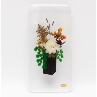 【iPhone Xケース】ONLY ONE 真花ケース Flower Pot iPhone X